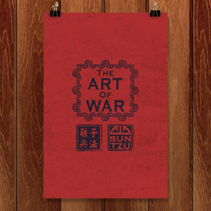 "The Art of War by Todd Gilloon 12"" by 18"" Print / Unframed Print Recovering the Classics"