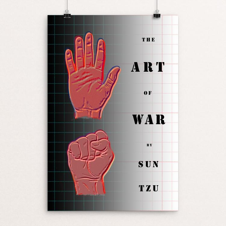 "The Art of War by Vivian Chang 12"" by 18"" Print / Unframed Print Recovering the Classics"