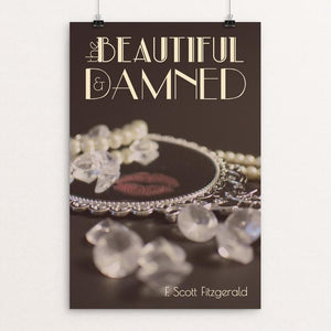 "The Beautiful and Damned by Abigail Vance 12"" by 18"" Print / Unframed Print Recovering the Classics"