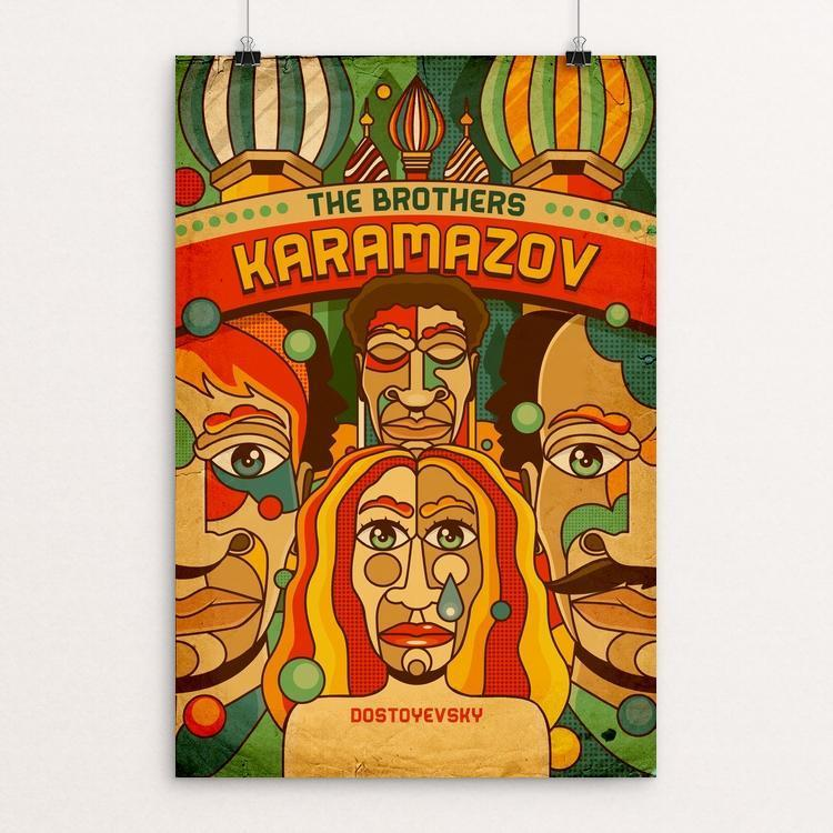 The Brothers Karamazov by Roberlan Borges