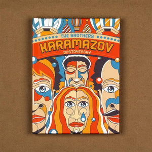 The Brothers Karamazov Hardcover Journal by Roberlan Borges