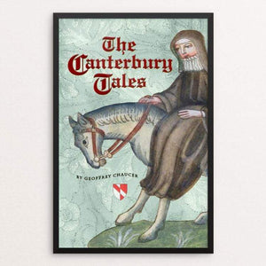 "The Canterbury Tales by Vivian Chang 12"" by 18"" Print / Framed Print Recovering the Classics"