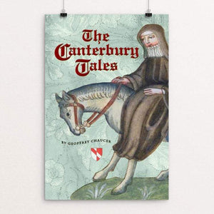 "The Canterbury Tales by Vivian Chang 12"" by 18"" Print / Unframed Print Recovering the Classics"