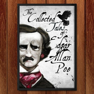 "The Collected Tales of Edgar Allan Poe by Adam S. Doyle 12"" by 18"" Print / Framed Print Recovering the Classics"