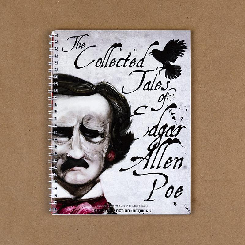 The Collected Works of Edgar Allan Poe Spiral Notebook by Adam S. Doyle Spiral Spiral Notebook Recovering the Classics