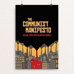 "The Communist Manifesto by Chris Arnold 12"" by 18"" Print / Unframed Print Recovering the Classics"