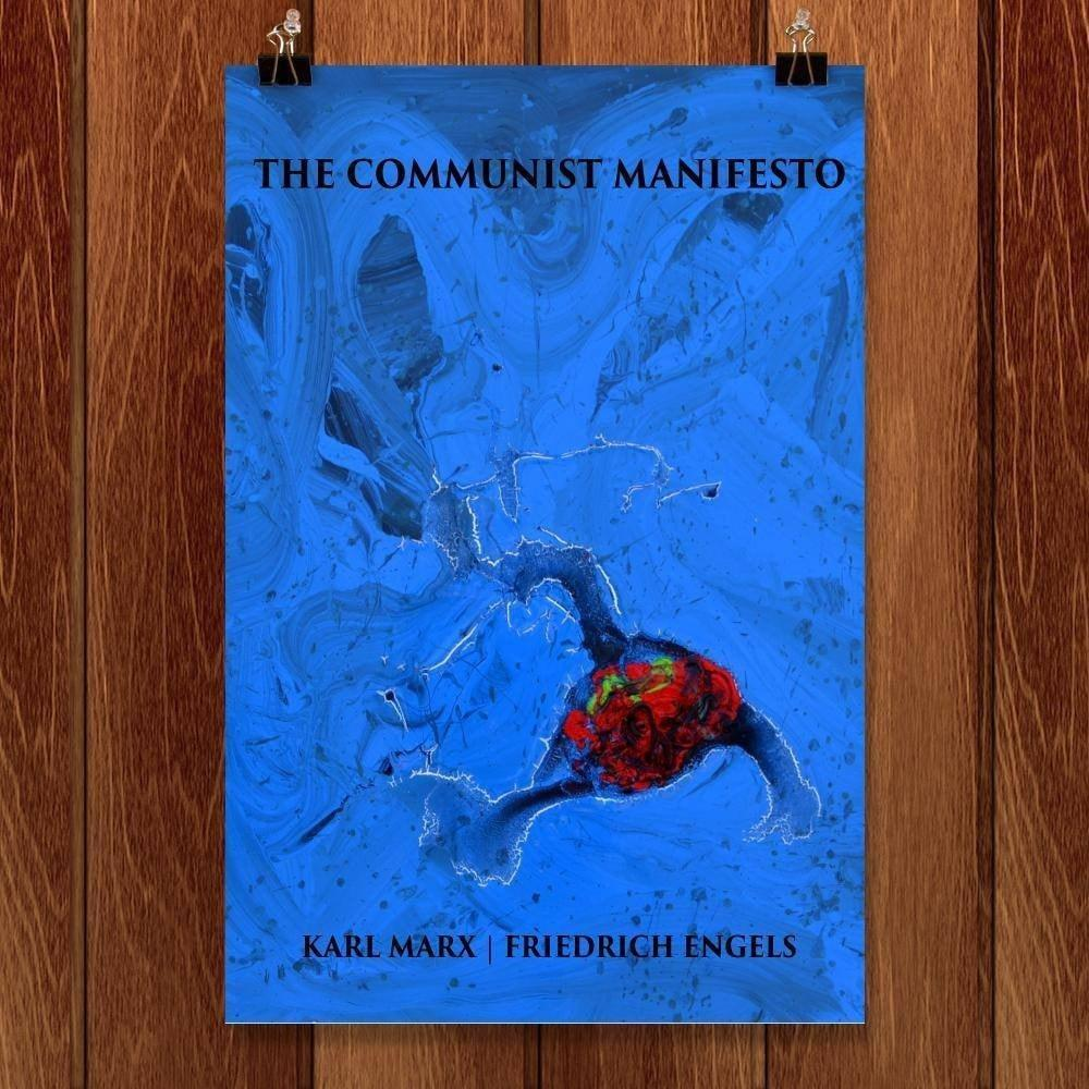 "The Communist Manifesto by Doug Stuber 12"" by 18"" Print / Unframed Print Recovering the Classics"