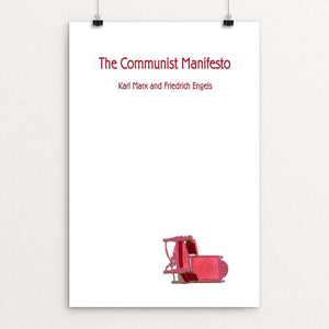 "The Communist Manifesto by Vivian Chang 12"" by 18"" Print / Unframed Print Recovering the Classics"