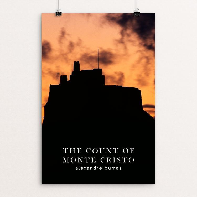 "The Count of Monte Cristo by Nick Fairbank 12"" by 18"" Print / Unframed Print Recovering the Classics"
