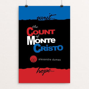 "The Count of Monte Cristo by Robert Wallman 12"" by 18"" Print / Unframed Print Recovering the Classics"