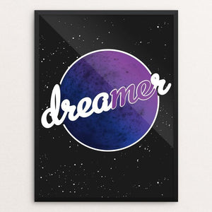 "The Dreamer in Me by Jazmin Chacon 12"" by 16"" Print / Framed Print Creative Action Network"