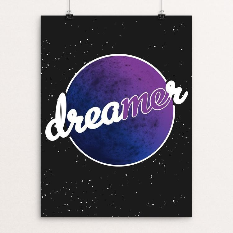 "The Dreamer in Me by Jazmin Chacon 12"" by 16"" Print / Unframed Print Creative Action Network"