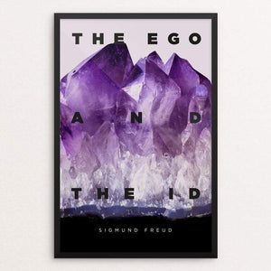 "The Ego and the Id by Fernando Horta 12"" by 18"" Print / Framed Print Recovering the Classics"