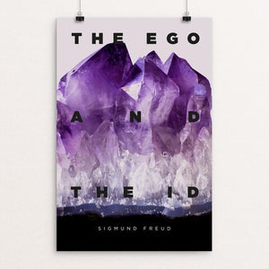 "The Ego and the Id by Fernando Horta 12"" by 18"" Print / Unframed Print Recovering the Classics"