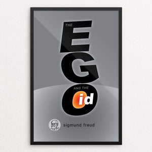 "The Ego and the Id by Robert Wallman 12"" by 18"" Print / Framed Print Recovering the Classics"