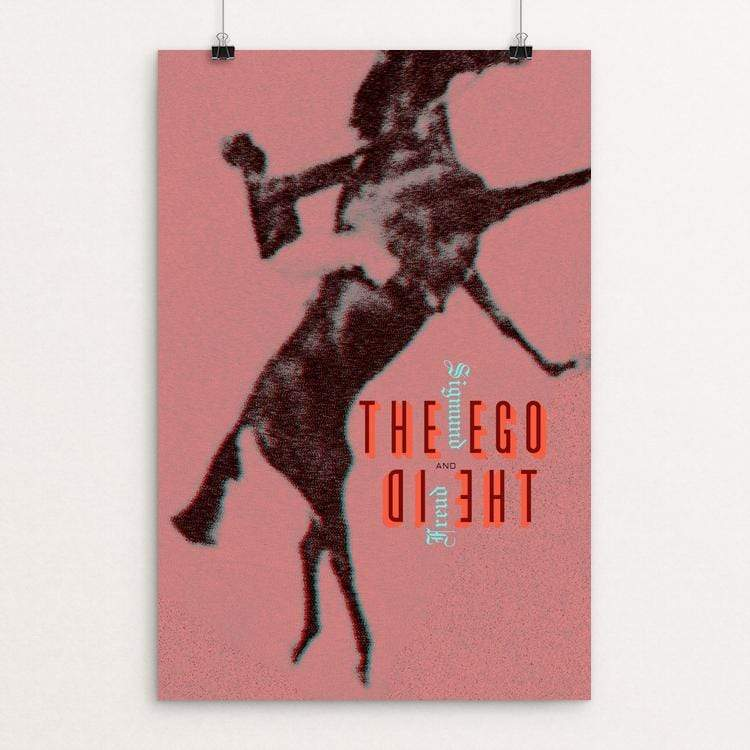 "The Ego and the Id by Vivian Chang 12"" by 18"" Print / Unframed Print Recovering the Classics"