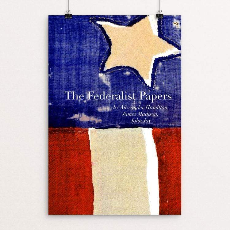 "The Federalist Papers by Vivian Chang 12"" by 18"" Print / Unframed Print Recovering the Classics"