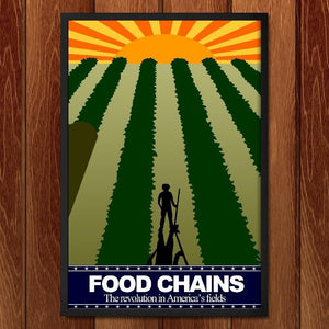 "The Field by Andrew Martin 12"" by 18"" Print / Framed Print Food Chains"
