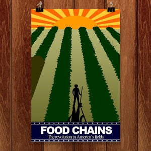 "The Field by Andrew Martin 12"" by 18"" Print / Unframed Print Food Chains"