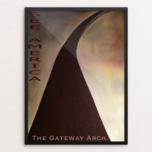 The Gateway Arch, Jefferson National Expansion Memorial by Bryan Bromstrup