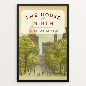 "The House of Mirth by Ed Gaither 12"" by 18"" Print / Framed Print Recovering the Classics"