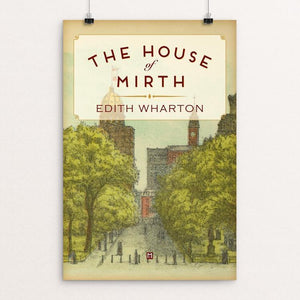 "The House of Mirth by Ed Gaither 12"" by 18"" Print / Unframed Print Recovering the Classics"