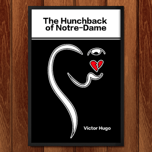 "The Hunchback of Notre Dame by Ashley Slade 12"" by 18"" Print / Framed Print Recovering the Classics"
