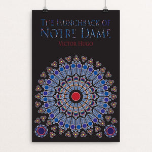 "The Hunchback of Notre Dame by Kelli Albracht 12"" by 18"" Print / Unframed Print Recovering the Classics"