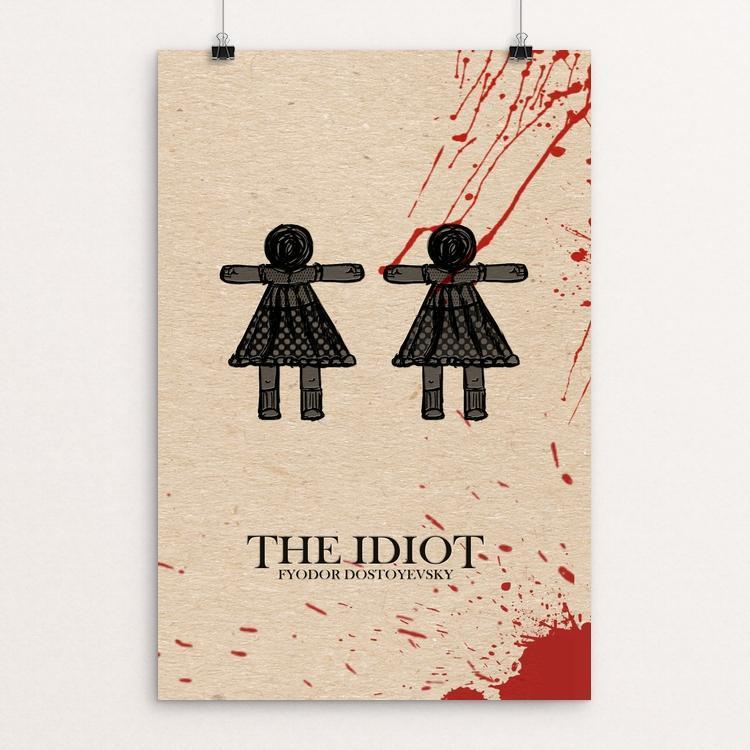 "The Idiot by Guillermo Guzman 12"" by 18"" Print / Unframed Print Recovering the Classics"