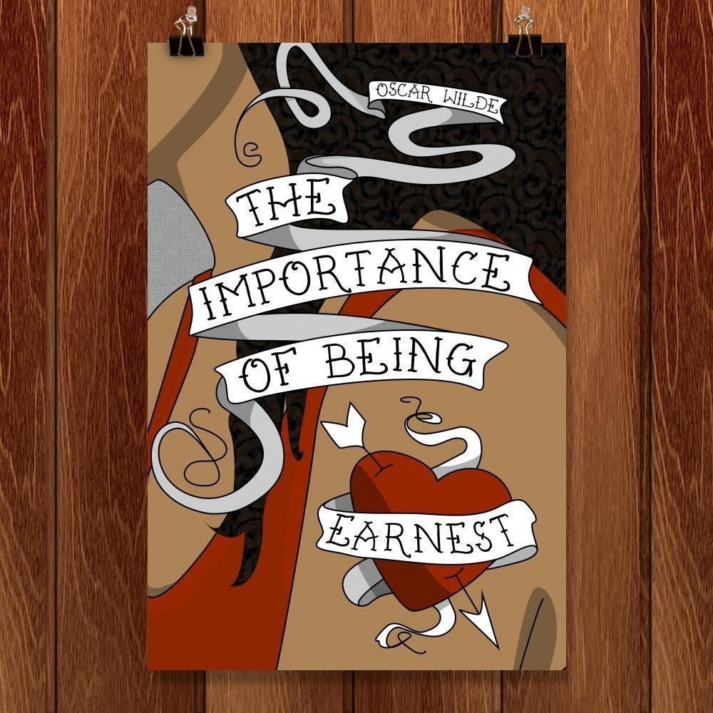"The Importance of Being Earnest by Coral Nafziger 12"" by 18"" Print / Unframed Print Recovering the Classics"