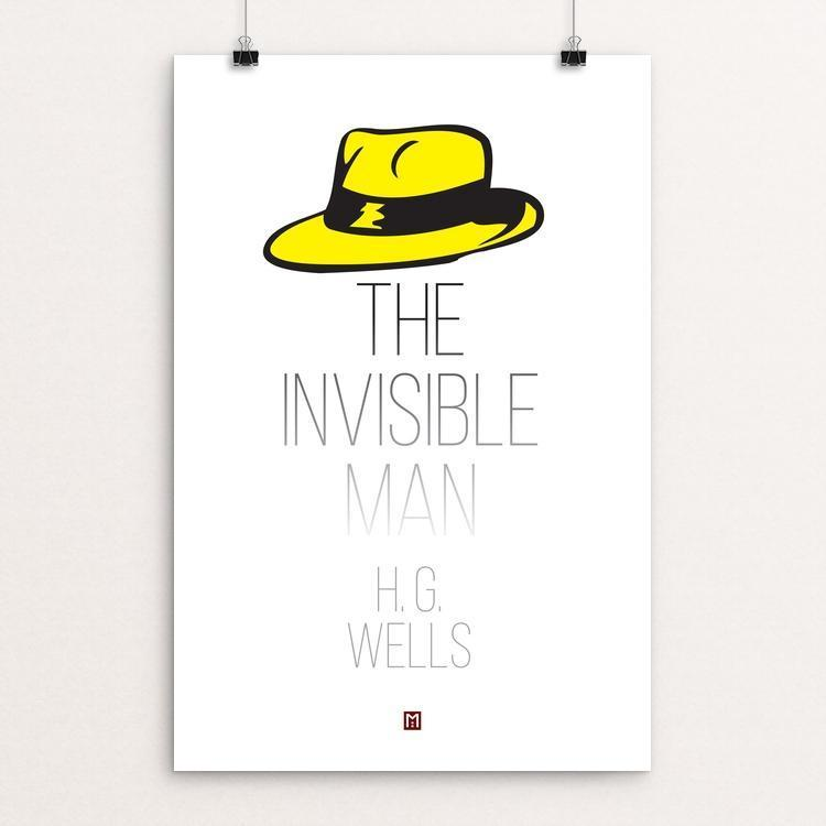 "The Invisible Man by Ed Gaither 12"" by 18"" Print / Unframed Print Recovering the Classics"