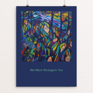 "The Journey by Frances Steinmark 12"" by 16"" Print / Unframed Print We Were Strangers Too"