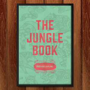 "The Jungle Book by Clayton Beltran 12"" by 18"" Print / Framed Print Recovering the Classics"