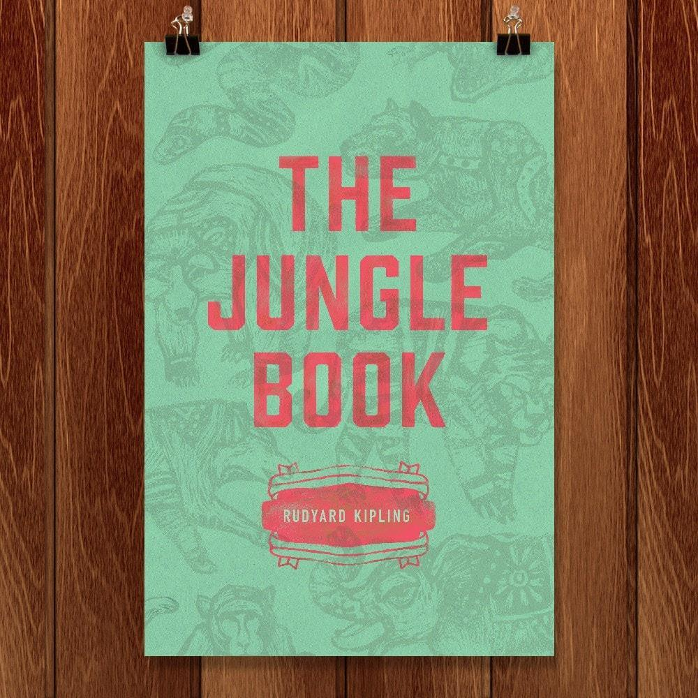 "The Jungle Book by Clayton Beltran 12"" by 18"" Print / Unframed Print Recovering the Classics"