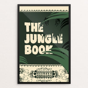 "The Jungle Book by Jeff Walters 12"" by 18"" Print / Framed Print Recovering the Classics"