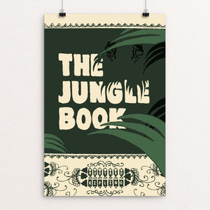 "The Jungle Book by Jeff Walters 12"" by 18"" Print / Unframed Print Recovering the Classics"