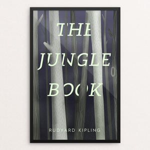 "The Jungle Book by Jeffrey Balch 12"" by 18"" Print / Framed Print Recovering the Classics"