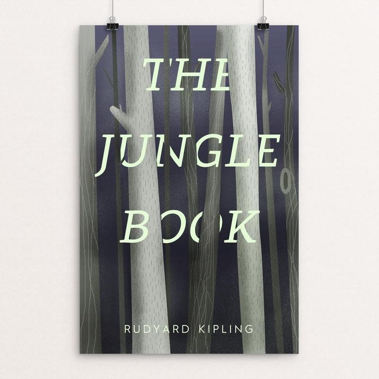 "The Jungle Book by Jeffrey Balch 12"" by 18"" Print / Unframed Print Recovering the Classics"