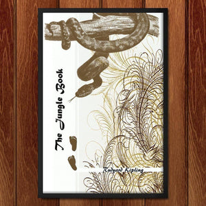 "The Jungle Book by Kassandra Black 12"" by 18"" Print / Framed Print Recovering the Classics"