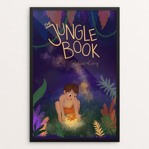 "The Jungle Book by Lauren Bailey 12"" by 18"" Print / Framed Print Recovering the Classics"