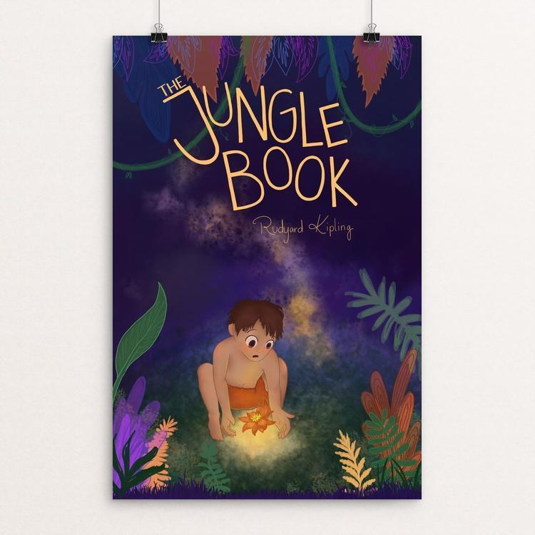 "The Jungle Book by Lauren Bailey 12"" by 18"" Print / Unframed Print Recovering the Classics"