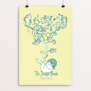 "The Jungle Book by Roberto Lanznaster 12"" by 18"" Print / Unframed Print Recovering the Classics"