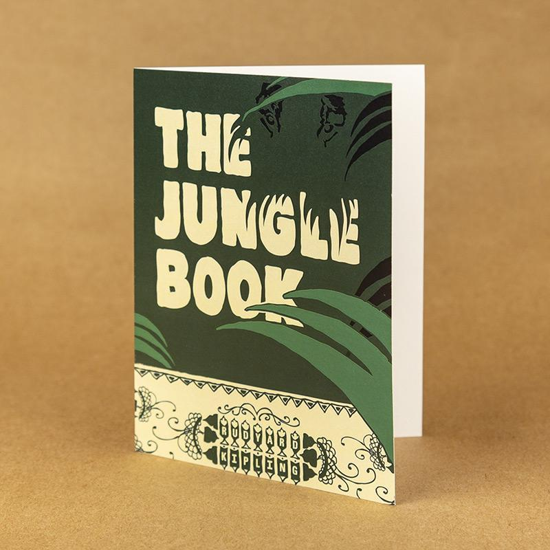 The Jungle Book Notecard by Jeff Walters