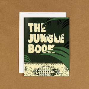 The Jungle Book Notecard by Jeff Walters 4.25x5.5 inch Notecard Recovering the Classics