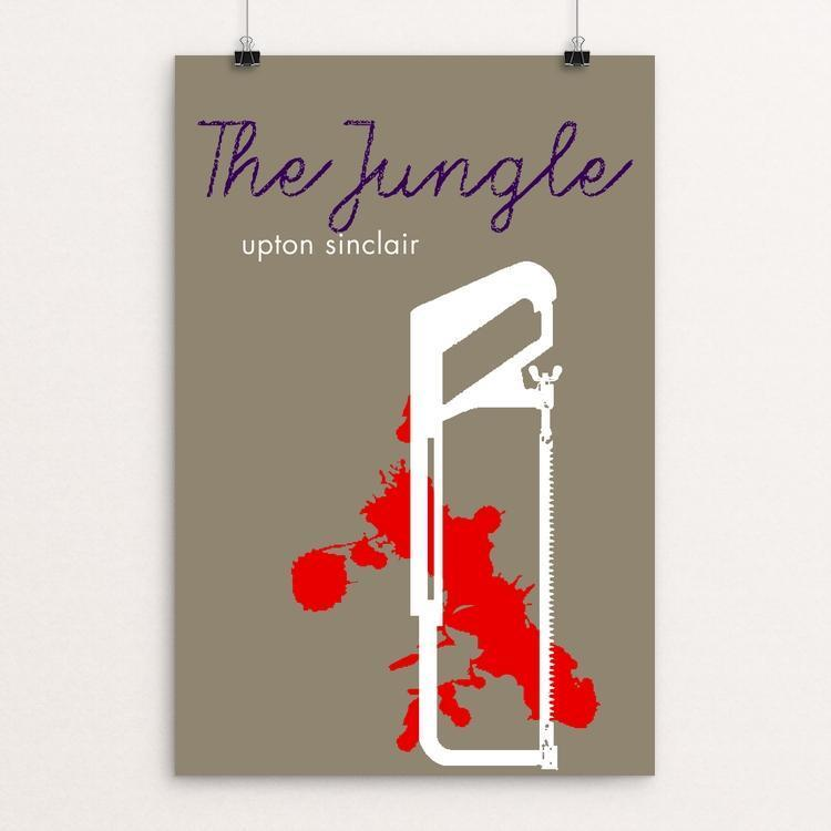 "The Jungle by Bob Rubin 12"" by 18"" Print / Unframed Print Recovering the Classics"