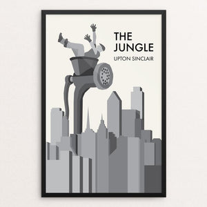 "The Jungle by Brendan Hawthorne 12"" by 18"" Print / Framed Print Recovering the Classics"