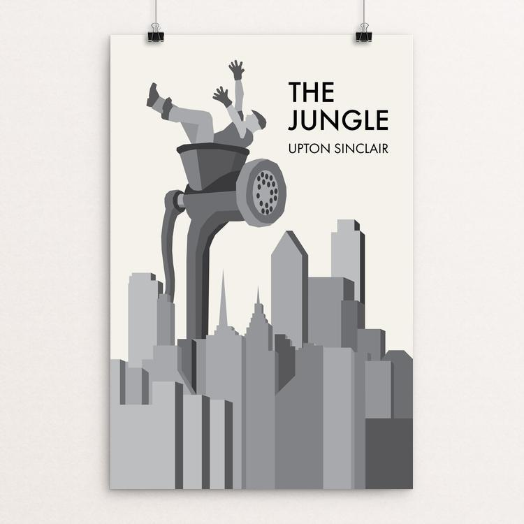 "The Jungle by Brendan Hawthorne 12"" by 18"" Print / Unframed Print Recovering the Classics"