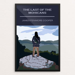 "The Last of the Mohicans by Bryan Bromstrup 12"" by 18"" Print / Framed Print Recovering the Classics"