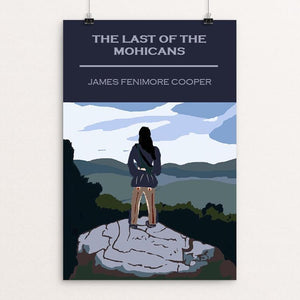 "The Last of the Mohicans by Bryan Bromstrup 12"" by 18"" Print / Unframed Print Recovering the Classics"