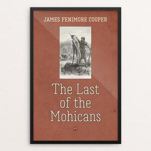 "The Last of the Mohicans by Ed Gaither 12"" by 18"" Print / Framed Print Recovering the Classics"
